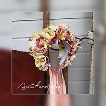Ozdoby do vlasov - kvetinová čelenka / parta - 10891320_
