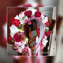 Ozdoby do vlasov - kvetinová čelenka / parta - 10891326_
