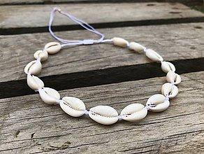 Náhrdelníky - VÝPREDAJ - náhrdelník z mušlí - 10889440_