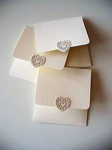 Papiernictvo - obal na CD/ jemne smotanový - 10889885_