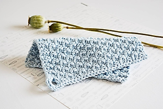 Úžitkový textil - Chňapka II EXTRA hrubá - svetlomodrá - 10890581_