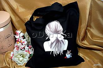 Nákupné tašky - ľanová nákupná taška Neznáma - 10890731_