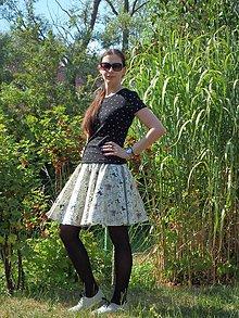 Sukne - Opravdická kolová - barová zpěvačka - 10891383_