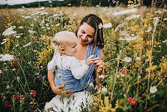 Detské doplnky - Šatka na nosenie detí FOLIUM - 10891007_