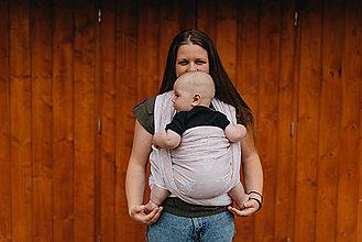 Detské doplnky - Šatka na nosenie detí APES - 10891027_