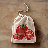 Iné tašky - Paradajky (bavlnené vrecko) - 10889861_