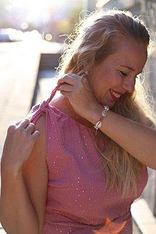 Šaty - Šaty SUNSHINE pink - 10889736_