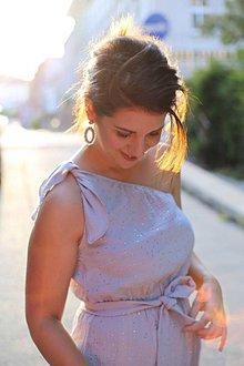 Šaty - Šaty SUNSHINE grey - 10890602_