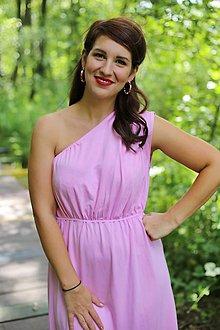 Šaty - Šaty EDEN na dojčenie baby pink - 10890651_