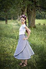 Sukne - zavinovacia sukňa Veronika - 10889231_