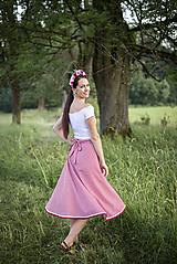 Sukne - zavinovacia sukňa Klárka - 10889298_