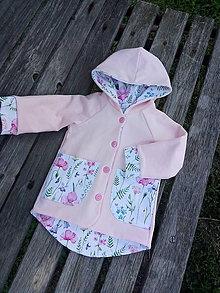 Detské oblečenie - Prechodný kabátik č. 92 - 10890491_