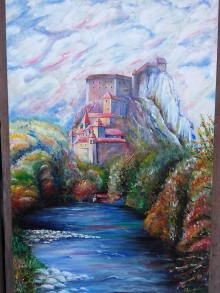 Obrazy - Oravský hrad - 10889741_
