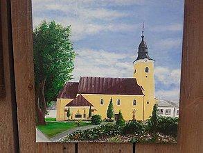 Obrazy - Beluša kostol - 10889755_