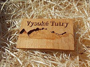 Drobnosti - Magnetka- Suvenír Vysoké Tatry (Magnetka - Suvenír Vysoké Tatry) - 10891507_