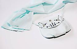 Kabelky - Mätová kabelka zdobená - 10891083_