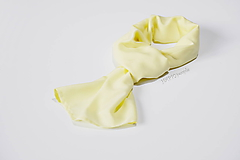 Šatky - Žltá šatka - 10891237_