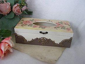Krabičky - Zásobník na servítky ... - 10889069_
