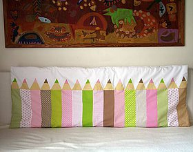 Úžitkový textil - Zástena Ceruzky tenká - 10890453_