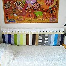 Úžitkový textil - Zástena Ceruzky tenká chlapčenská - 10890517_