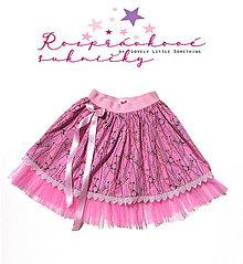 Detské oblečenie - Rozprávková suknička