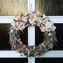 Dekorácie - Veniec na dvere - 10893767_