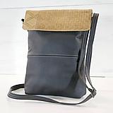 Veľké tašky - Kožená kabelka - Eli n. 02 - 10891644_