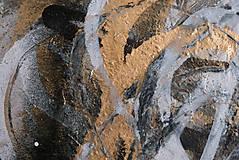 Obrazy - Boj /maľba sprejmi a akrylom na plátne/ A4 - 10893232_