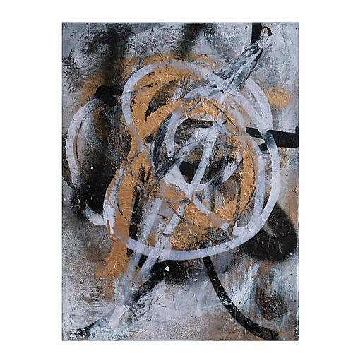 Boj /maľba sprejmi a akrylom na plátne/ A4