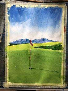 Obrazy - Tatry a golf - 10891765_