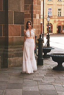Šaty - Svadobné šaty PEARLS - 10892829_