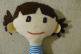 Hračky - bábika - 10891818_