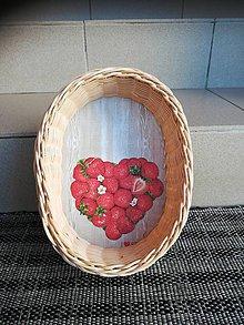 Dekorácie - Oválny košík z pedigu - 10893272_