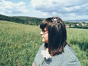Ozdoby do vlasov - Slamienka - 10892462_