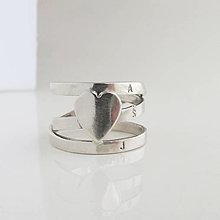 Prstene - come.t light (Love - celý zlatý / záloha) - 10893577_