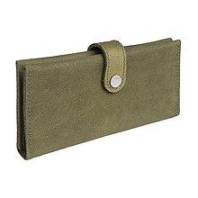 Peňaženky - Kožená peněženka Moneta Magna Viridita - 10892039_