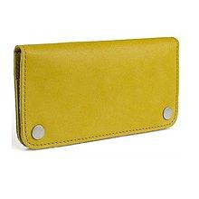 Peňaženky - Kožená peněženka Moneta Triviala Lutea - 10892056_