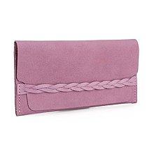 Peňaženky - Kožená peněženka Moneta Efferta Rosea - 10892088_