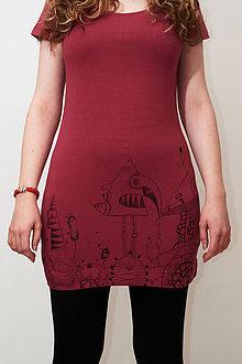"""Tričká - Maľované tričko """"Fantasy"""" - 10893704_"""
