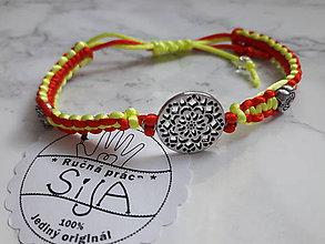 """Náramky - Ručne vyrobený náramok """"Kvet"""" - 10894153_"""
