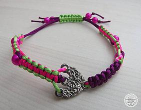 """Náramky - Ručne vyrobený náramok """"Kvety"""" - 10894197_"""