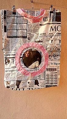 Nákupné tašky - Novinová Marylin - 10893797_