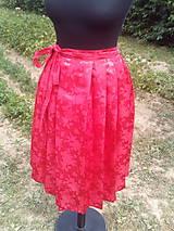 Sukne - Krojová skladaná sukňa - 10893613_