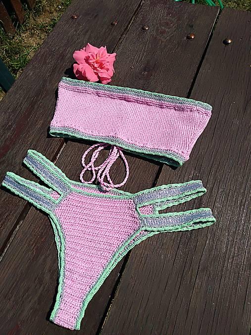 Výpredaj - Háčkované plavky Júlia