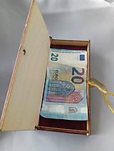 Drobnosti - Na peňažny dar - 10892201_