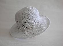 Čiapky - White hat - 10896578_