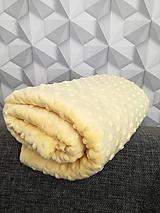 Textil - Minky - CUDDLE DIMPLE® Banana - 10894763_