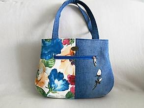 Veľké tašky - dámska kabelka - jemná - 10894793_