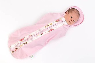 Textil - Upokojujúca perinka Mimi pink floral - 10894959_