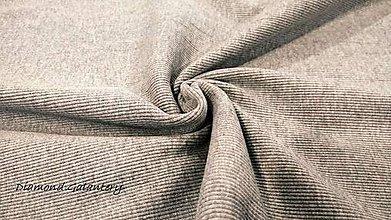 Textil - Patent rebrovaný - cena za 10 centimetrov látky (Šedá) - 10894774_